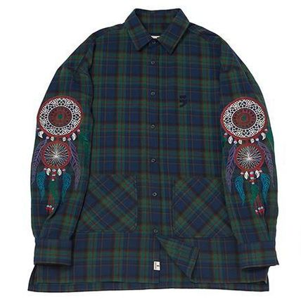 シャツ 日本未入荷 A NOTHING DREAMCATCHER DROP-SHOULDER SHIRT 全2色(10)