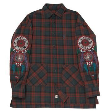 シャツ 日本未入荷 A NOTHING DREAMCATCHER DROP-SHOULDER SHIRT 全2色(14)