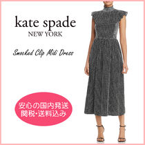 【国内発送】smocked clip midi dress セール