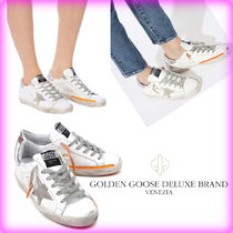 【Golden Goose】ORANGE SUPERSTAR SNEAKERS☆/追跡付