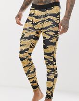 ASOS 4505 running tights with camo print and quick dry