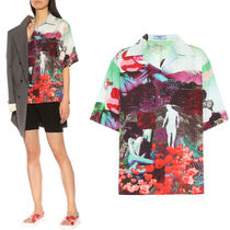 PR1936 ABSTRACT PRINT COTTON SHIRT