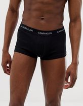 Calvin Klein Statement 1981 patch logo low rise trunks in