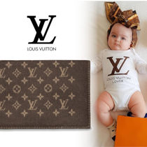 Louis Vuitton(ルイヴィトン) キッズ・ベビー・マタニティその他 【Louis Vuitton】 ネオモノグラム柄ブランケット
