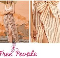 ベストセラー Free People One Natalia Striped Skirt