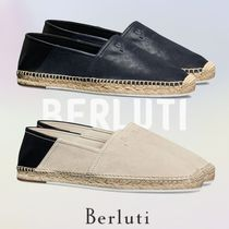 209646e11be ベルルッティ Iban Biarritz Agnello Leather Espadrille 2色