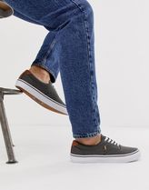 Polo Ralph Lauren thornton washed twill plimsoll with mult