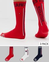 Tommy Hilfiger Tommy Cares 3 pack crew socks gift box