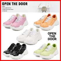 ☆人気☆【OPEN THE DOOR】☆Candy Platform Sneakers☆5色☆