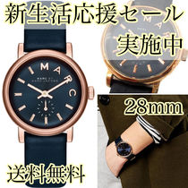 MARC JACOBS 腕時計 MBM1331 ネイビー 28mm MARC BY MARC JACOBS