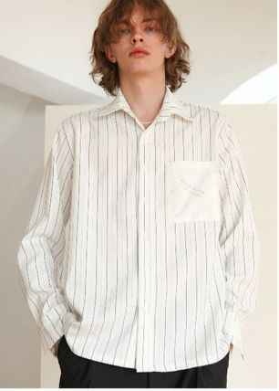 シャツ 日本未入荷TRIP LE SENSのSTITCHES STRIPE SHIRTS 全2色(3)