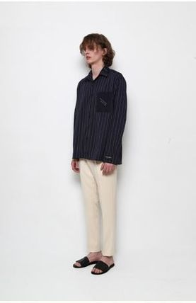 シャツ 日本未入荷TRIP LE SENSのSTITCHES STRIPE SHIRTS 全2色(18)
