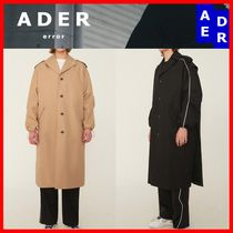 ★韓国の人気★【ADERERROR】★Manteau Single Coat★2色★
