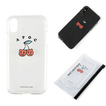 ★A PIECE OF CAKE★ 韓国 iphoneケース Cherry Bear Phone Case