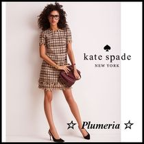 ★SALE★kate spade new york ツイードワンピース