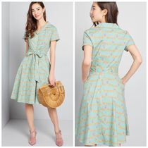 modcloth(モドクロス) ワンピース 国内送料無料♪Energetic Rendition Dress*シャツワンピース