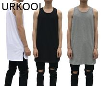 URKOOL(ユーアークール) Tシャツ・カットソー 【国内発送】URKOOL☆タンクトップ☆3色☆送料関税込み