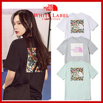 韓国限定★THE NORTH FACE★FLORAL Short sleeve T-shirt 4色