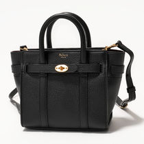 Mulberry RL5476 205 A100 MICRO ZIPPED BAYSWATER バッグ Black