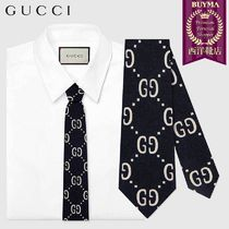 【正規品保証】GUCCI★19春夏★CHILDREN´S GG WOOL SILK TIE