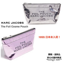 MARC JACOBS(マークジェイコブス) メイクポーチ 【MARC JACOBS】関送込 The Foil  コスメ ポーチ