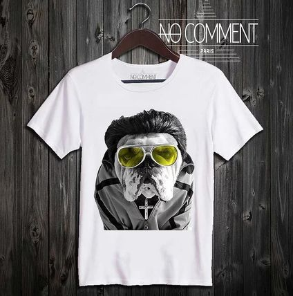 NO COMMENT PARIS Tシャツ・カットソー 送料関税込み▼NO COMMENT PARIS メンズ▲サングラスエルビス