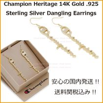 送料込【Champion × King Ice】Heritage 14K Gold Danglingピアス