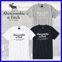 Abercrombie & Fitch◆定番人気 アップリケロゴTシャツ・3色◆