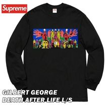 Supreme Gilbert George DEATH AFTER LIFE L/S T-Shirt SS19 WK4