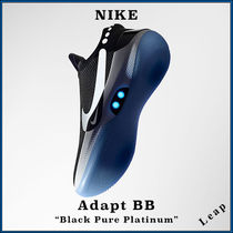 "【Nike】オートシューレス Adapt BB ""Black Pure Platinum"""