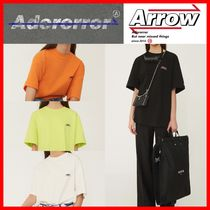 ADERERROR(アーダーエラー) Tシャツ・カットソー ★韓国の人気★【ADERERROR】★Synthesis T-Shirt★4色★