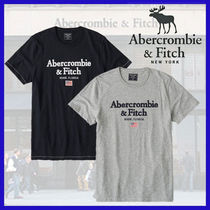 Abercrombie & Fitch◆フラッグ付 アップリケロゴTシャツ◆