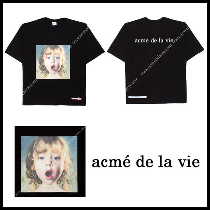 acme de la vie Tシャツ・カットソー 【acme de la vie】ADLV BABY FACE T-Shirt JEWELRY★日本未入荷