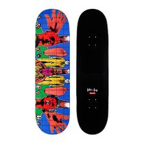 Supreme Gilbert George DEATH AFTER LIFE Skateboard SS19 WK 4