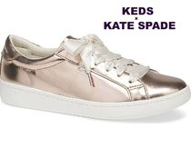KEDS X KATE SPADE *ACE LEATHER SPECCHIO*メタリック2色