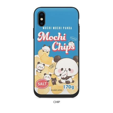 スマホケース・テックアクセサリー [KAMIO JAPAN] MOCHIMOCHI PANDA FANCY CARD SLIDE IPHONE CASE(6)