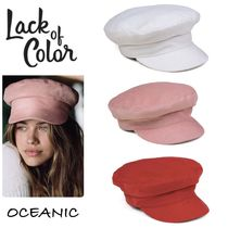 ☆SALE☆【Lack of Color】Dunes Cap キャスケット 3色