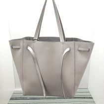 "【CELINE】Small ""Cabas Phantom"" (Light Gray)"