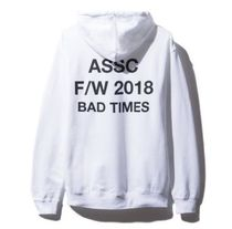 【即発】訳あり■ANTI SOCIAL SOCIAL CLUB Bad Times パーカー S