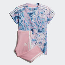 New☆adidas originals MARBLE T-SHIRT-セット♪新作 半袖ズボン