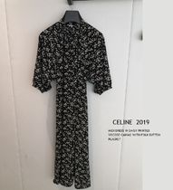 CELINE ★2019SS MIDI DRESS IN DAISY PRINTED お花柄ワンピース