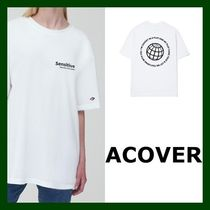 ACOVER(オコボ) Tシャツ・カットソー 日本未入荷!【ACOVER】ROUND BACK EARTH T(WHITE)