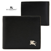 ☆BURBERRY☆CCBILL COIN WALLETバーバリー折りたたみ財布 BLACK