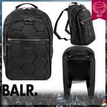 BALR.★ボーラー ヘキサゴン バックパック ナイロン BACKPACK 黒