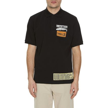 JW Anderson★Bubblegum Patches Polo T-shirt Black