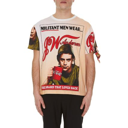 JW Anderson★Militant Men T-Shirt Blush