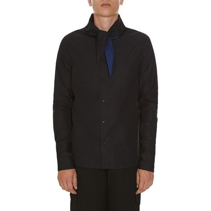 JW Anderson★Neck Scarf Shirt Black