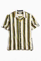 即完売!UO ★ Soft Stripe Breezy Short Sleeve Shirt