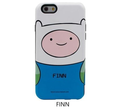 スマホケース・テックアクセサリー [ADVENTURE TIME] FINN&JAKE CHARACTER TOUGH IPHONE CASE(2)