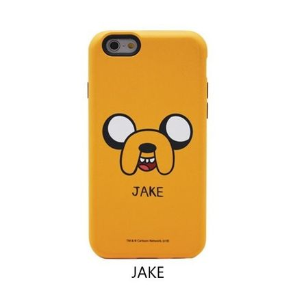 スマホケース・テックアクセサリー [ADVENTURE TIME] FINN&JAKE CHARACTER TOUGH IPHONE CASE(3)